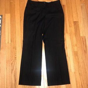 Worthington Pinstripe Suit Dress Pants Petite 8P 8